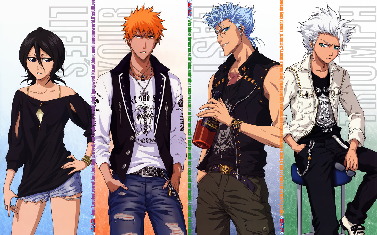 Download hd 1440x900 Bleach PC wallpaper ID:419279 for free