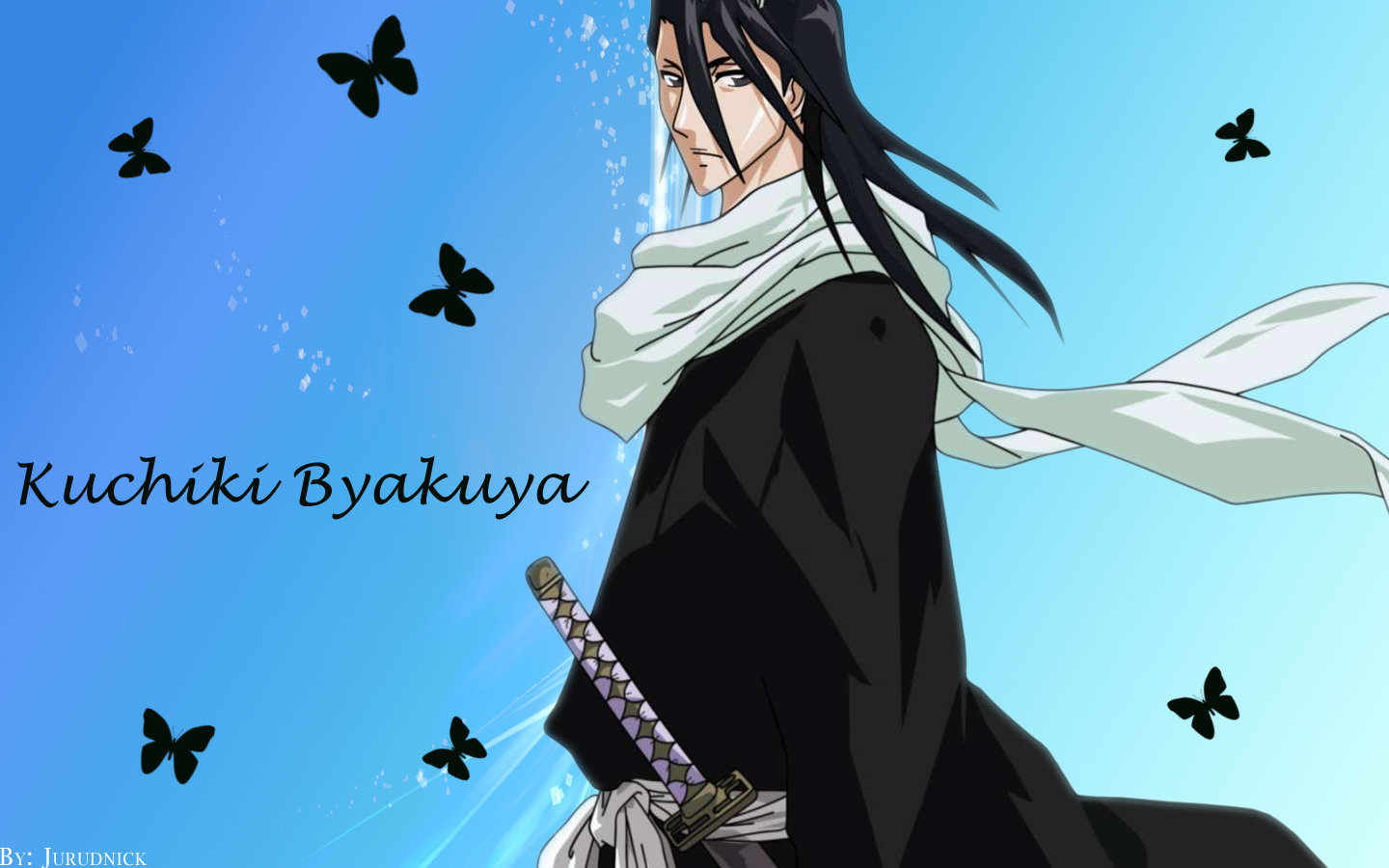 Awesome Byakuya Kuchiki free background ID:417327 for hd 1440x900 PC
