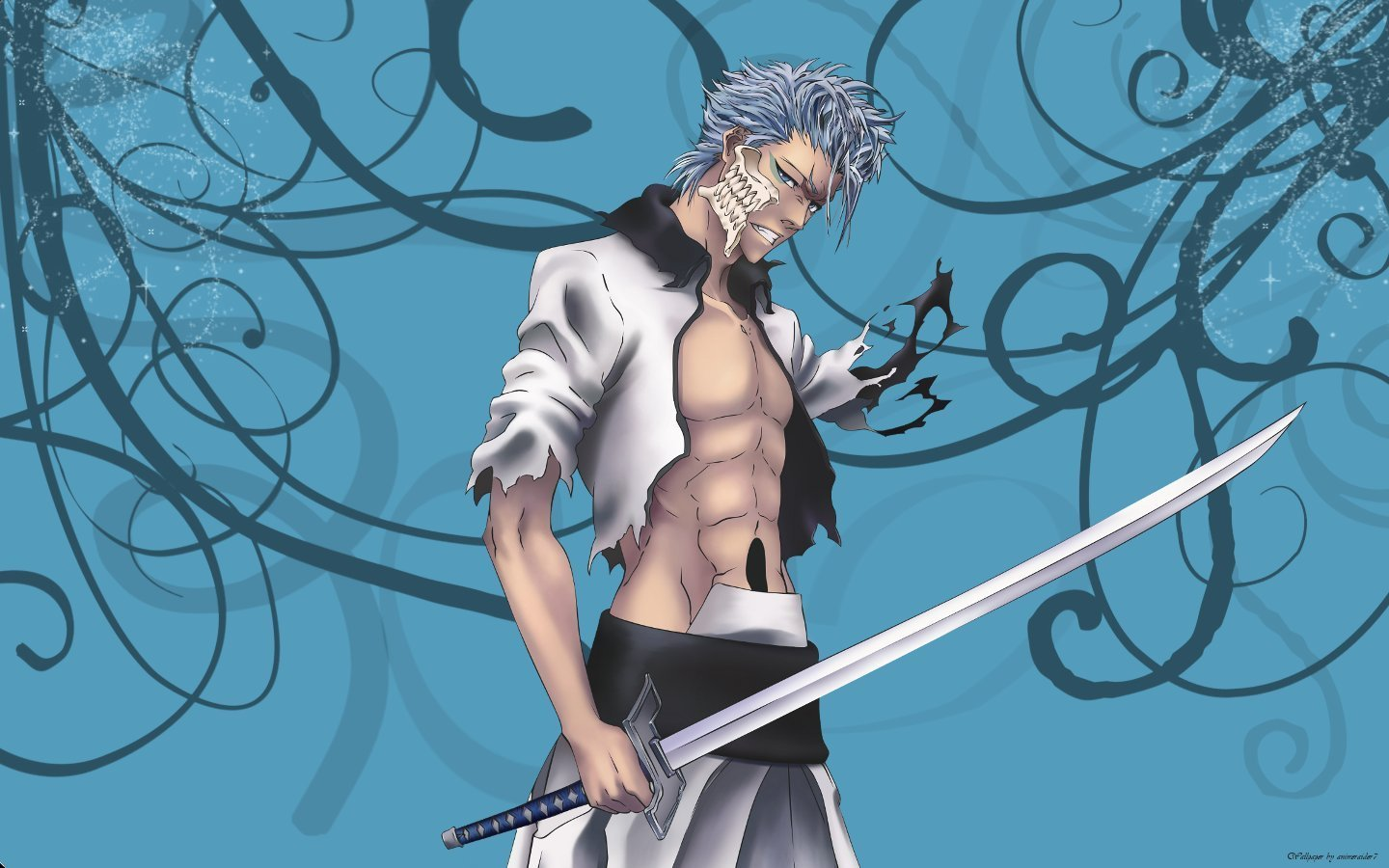 Awesome Grimmjow Jaegerjaquez free background ID:419176 for hd 1440x900 PC