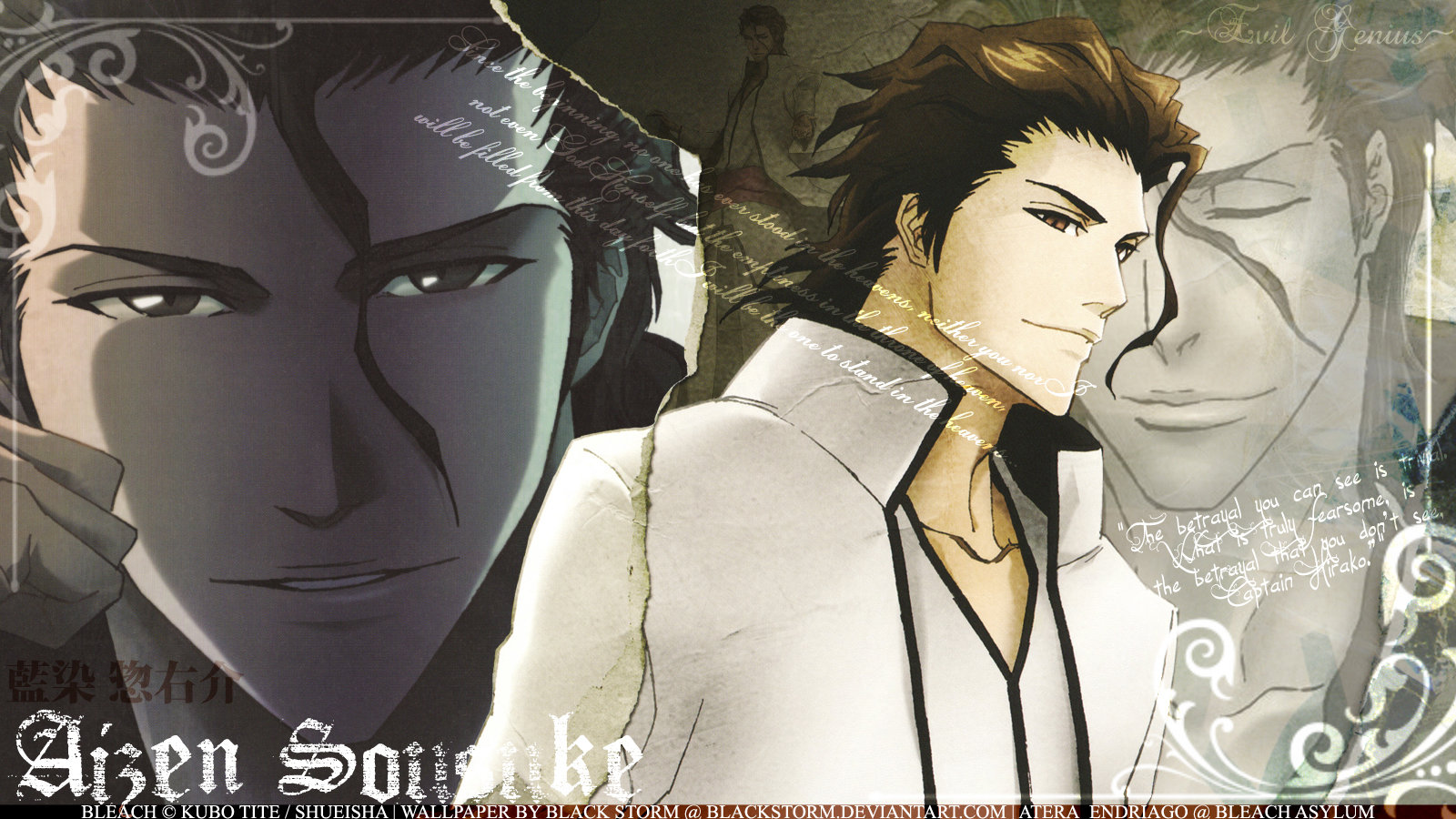 Free Sosuke Aizen high quality wallpaper ID:412330 for hd 1600x900 desktop