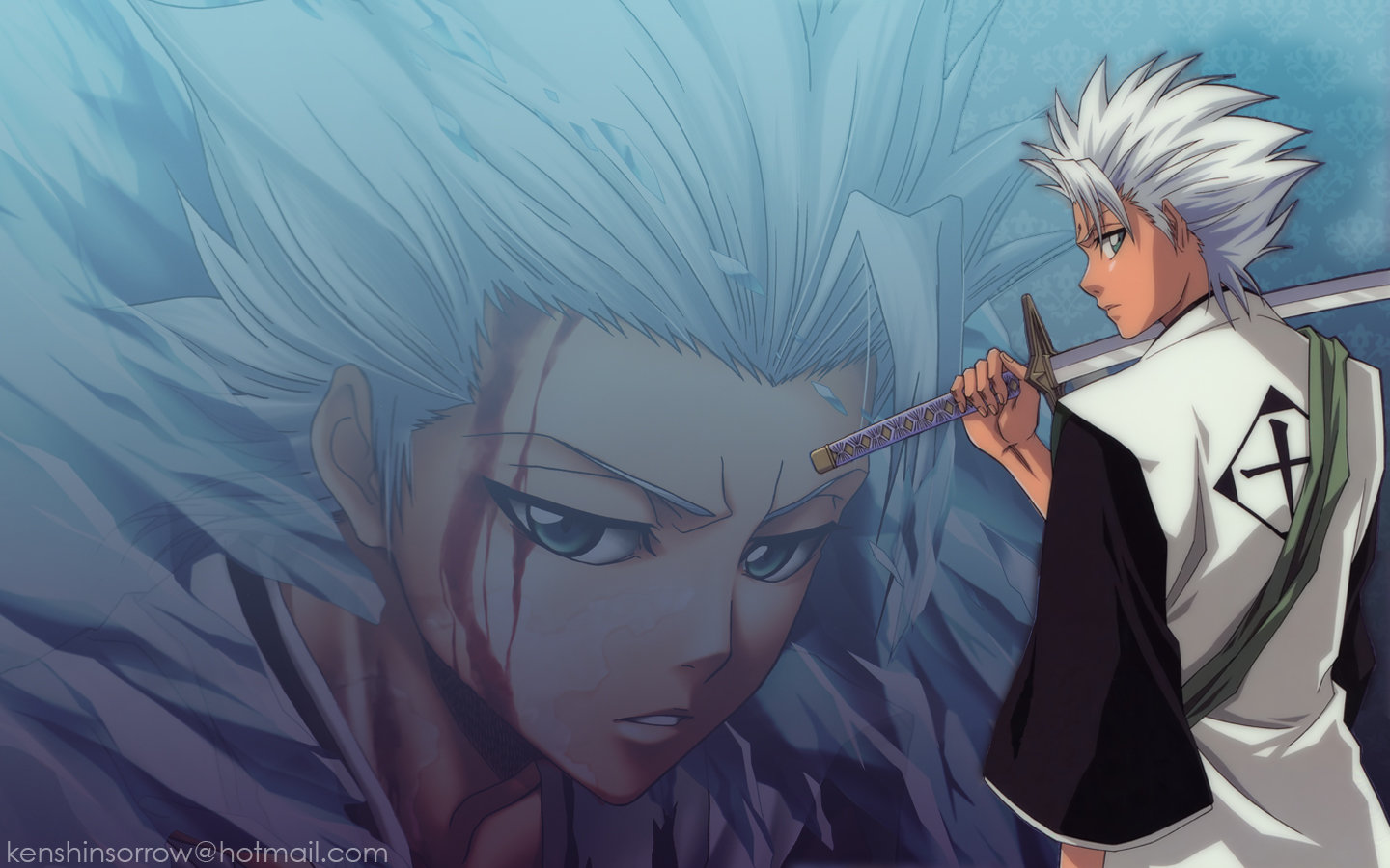 Download hd 1440x900 Toshiro Hitsugaya PC background ID:417303 for free