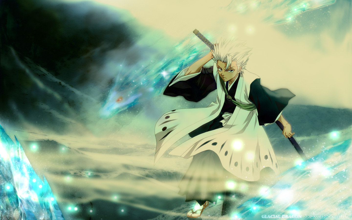 Awesome Toshiro Hitsugaya free wallpaper ID:417333 for hd 1440x900 PC