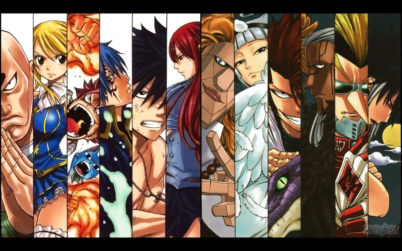 High resolution Fairy Tail hd 1280x800 background ID:40786 for computer