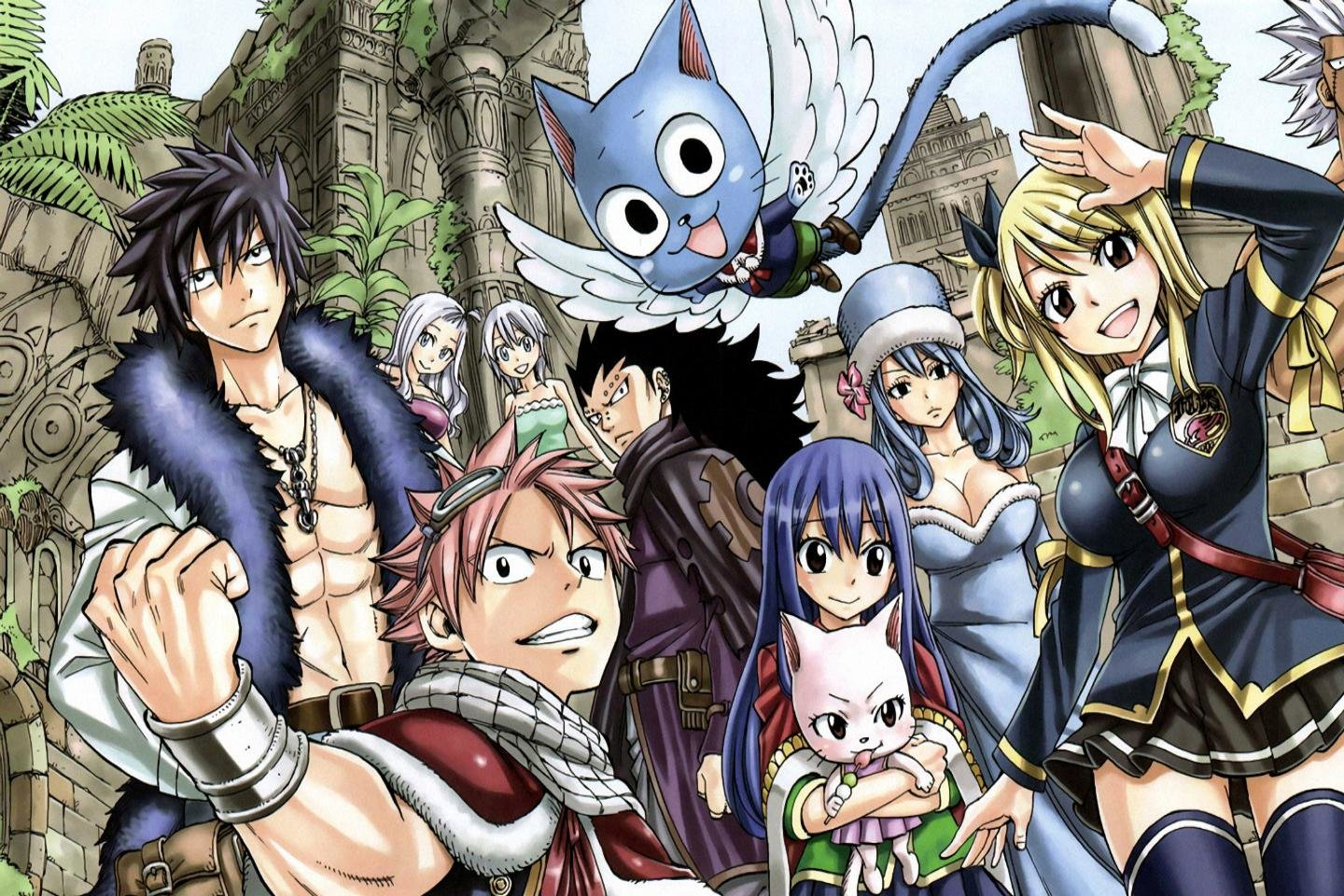 Free download Fairy Tail background ID:40773 hd 1440x960 for PC