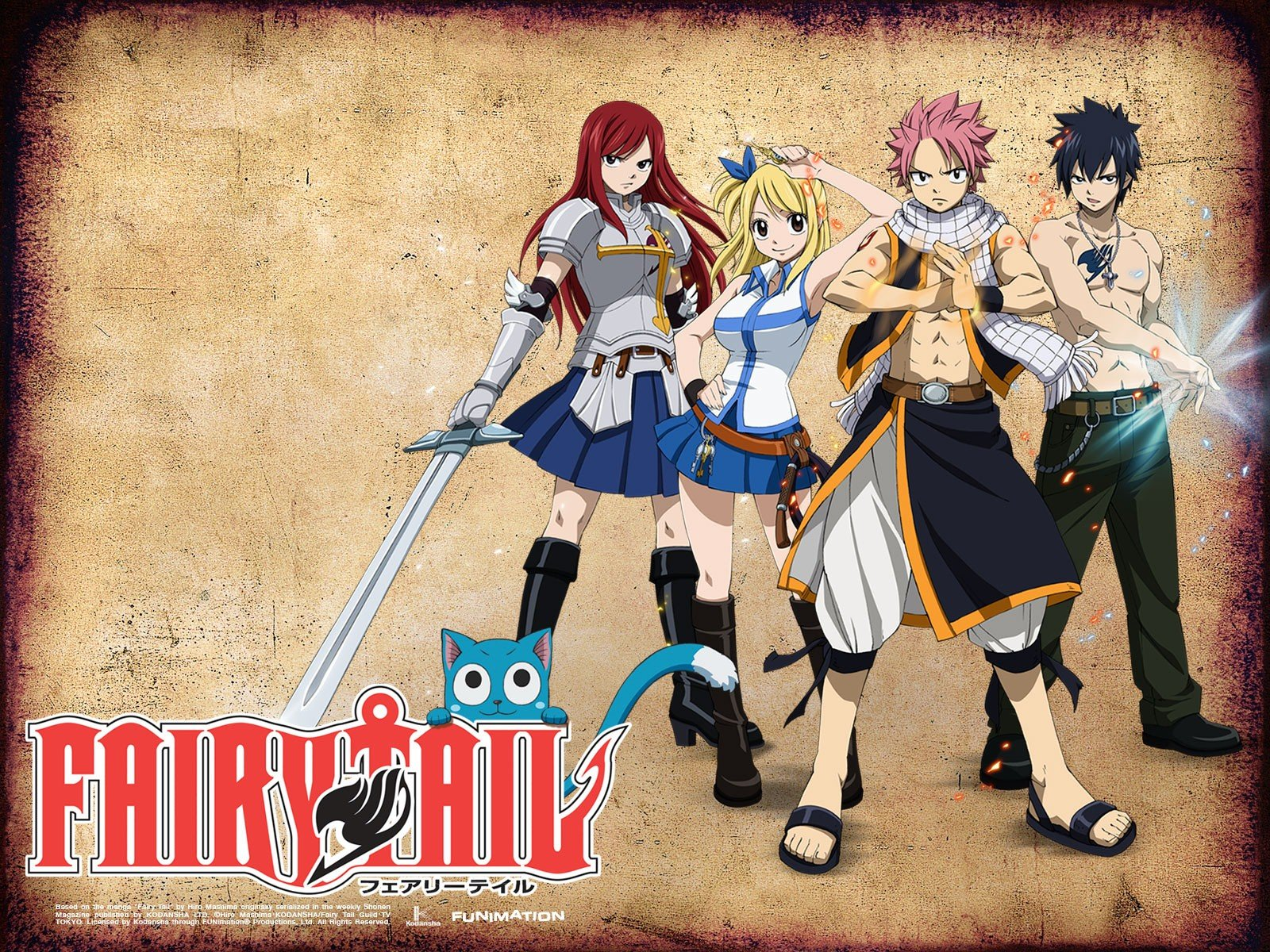 Free Fairy Tail high quality wallpaper ID:40817 for hd 1600x1200 PC