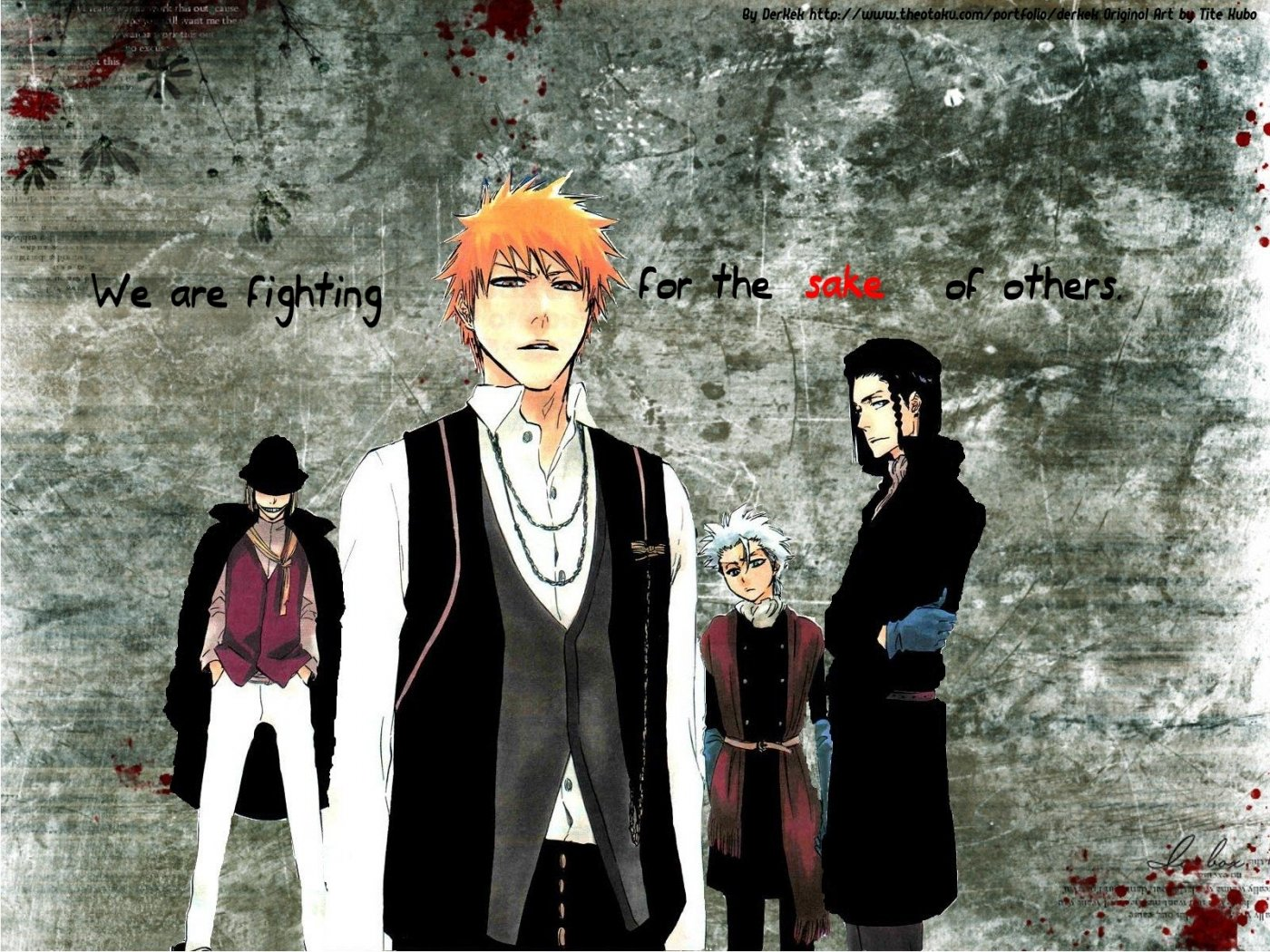 High resolution Bleach hd 1400x1050 wallpaper ID:412553 for desktop