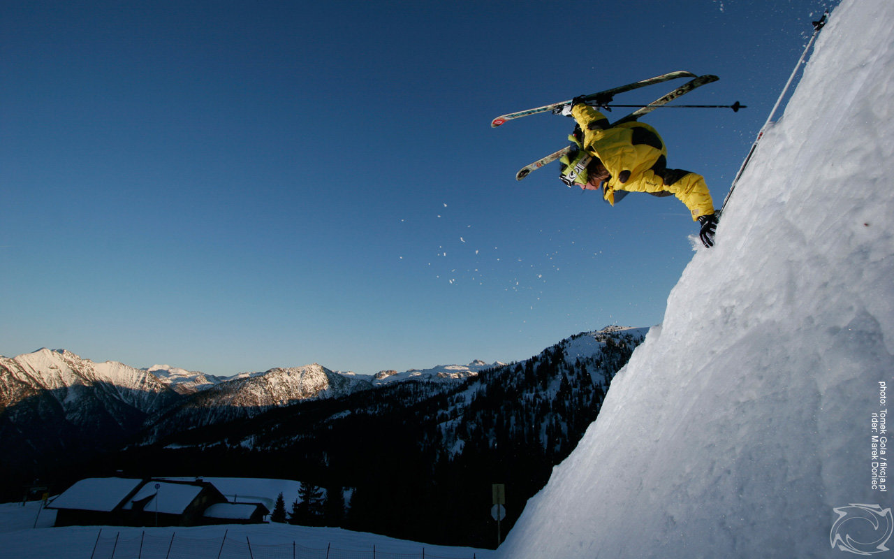 Free Skiing high quality wallpaper ID:27235 for hd 1280x800 PC