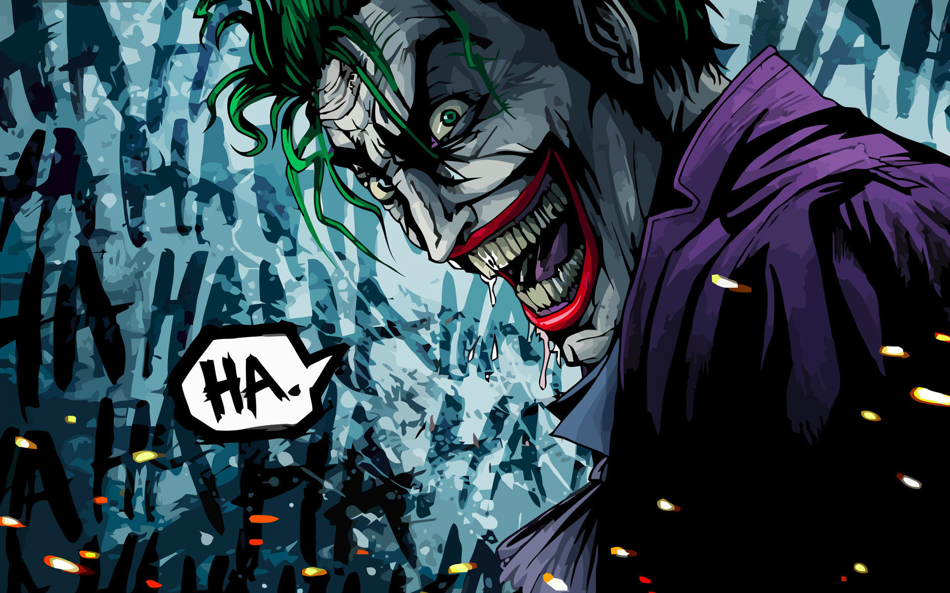 Download hd 1920x1200 Joker desktop background ID:131170 for free