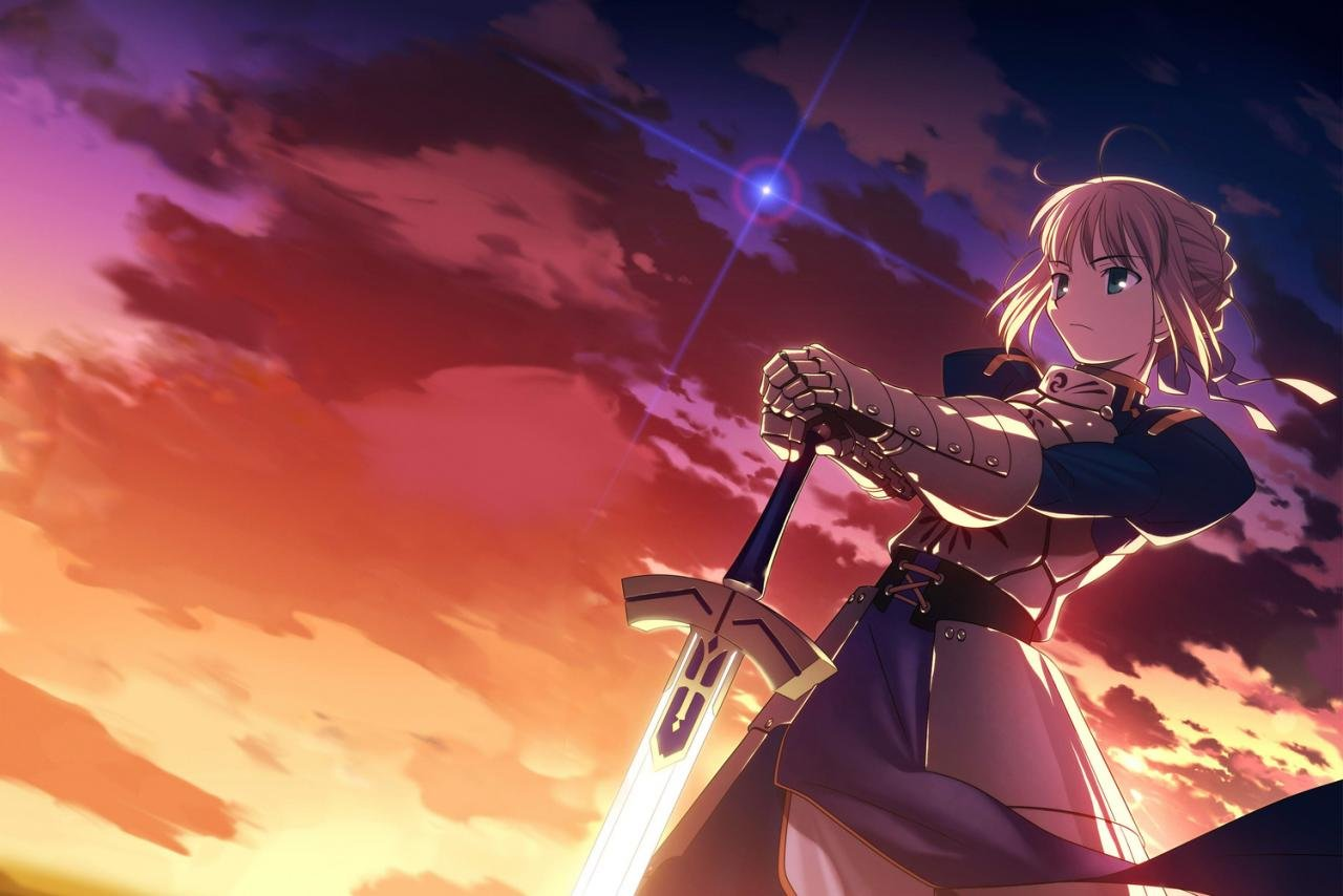 Awesome Saber (Fate Series) free background ID:469052 for hd 1280x854 computer