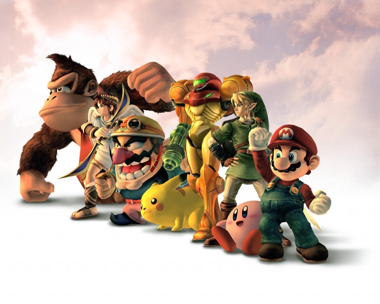 Super Smash Bros Wallpapers 1280x1024 Desktop Backgrounds
