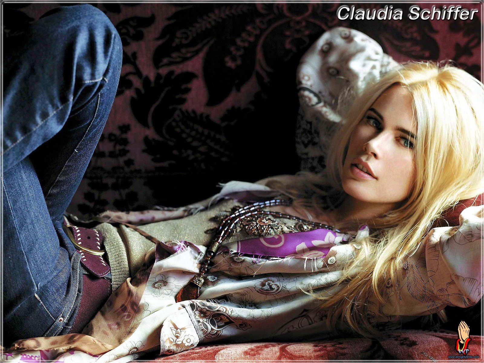 Free Claudia Schiffer high quality wallpaper ID:7774 for hd 1600x1200 desktop