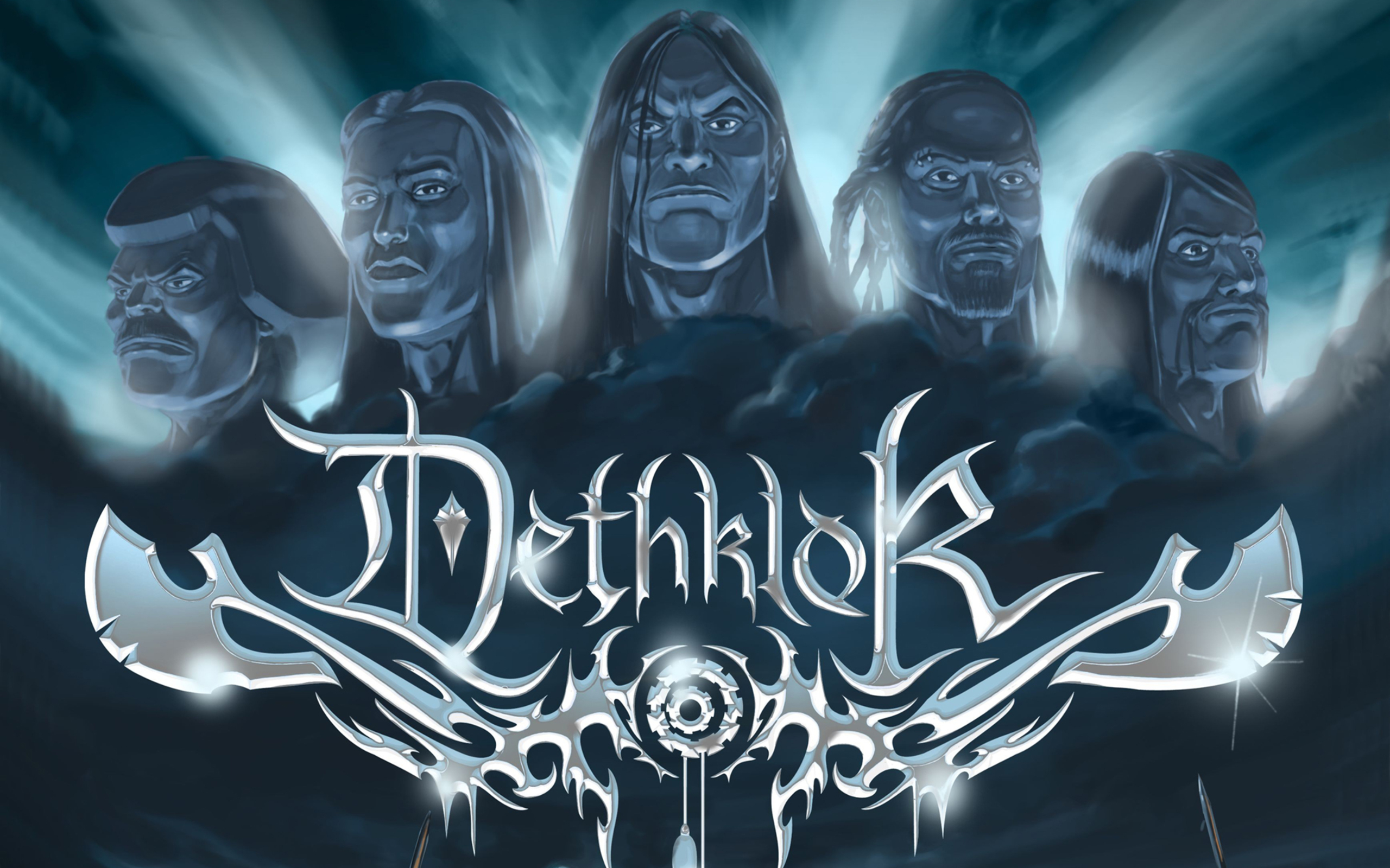 Download hd 2560x1600 Dethklok desktop background ID:174780 for free
