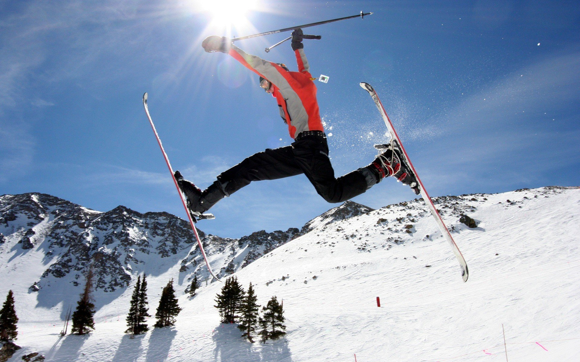 Download hd 1920x1200 Skiing PC wallpaper ID:27288 for free