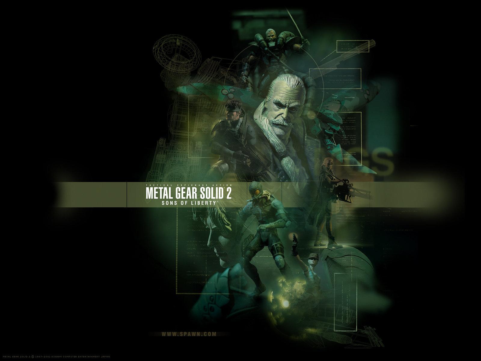 Metal Gear Solid 2 Wallpaper: Metal Gear Solid (MGS) Wallpapers HD For Desktop Backgrounds