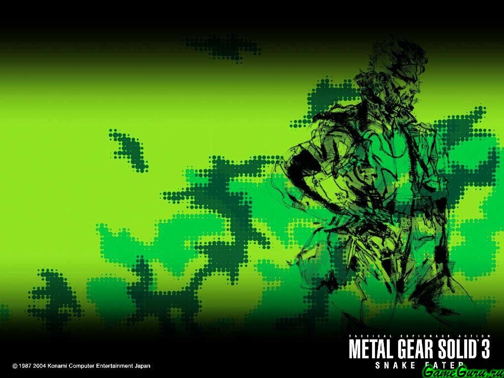 High Resolution Metal Gear Solid 3 Snake Eater MGS Hd 1024x768 Wallpaper