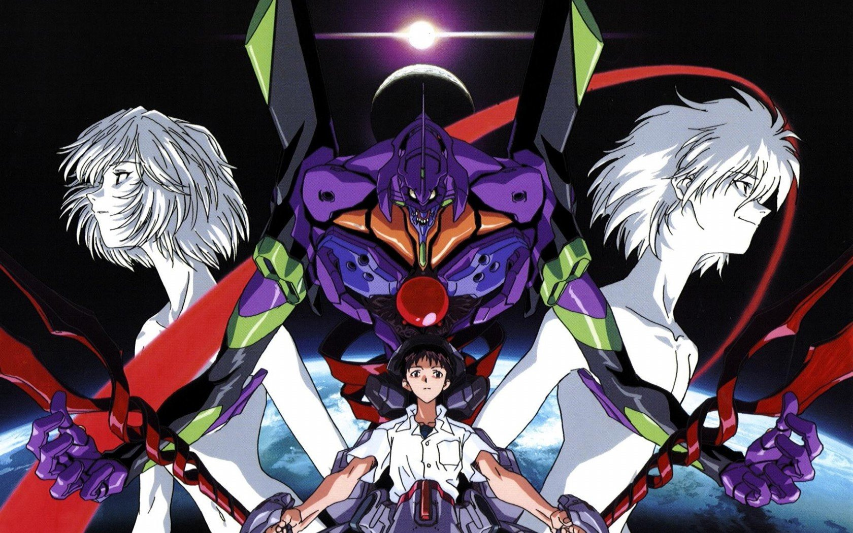 Awesome Neon Genesis Evangelion free wallpaper ID:214992 for hd 1680x1050 desktop
