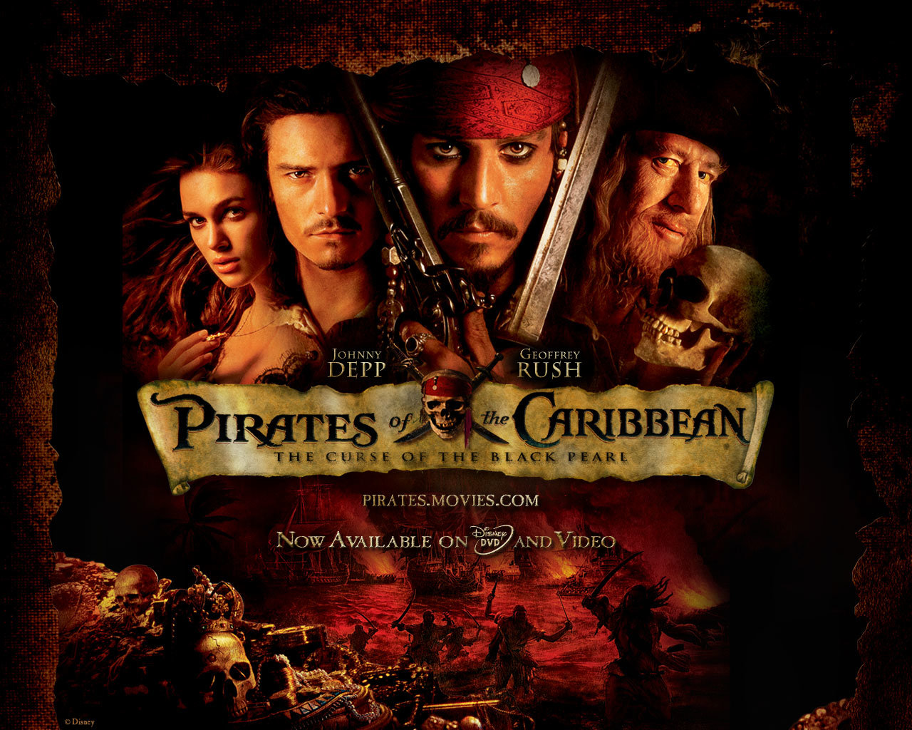 Free download Pirates Of The Caribbean: The Curse Of The Black Pearl background ID:353265 hd 1280x1024 for desktop