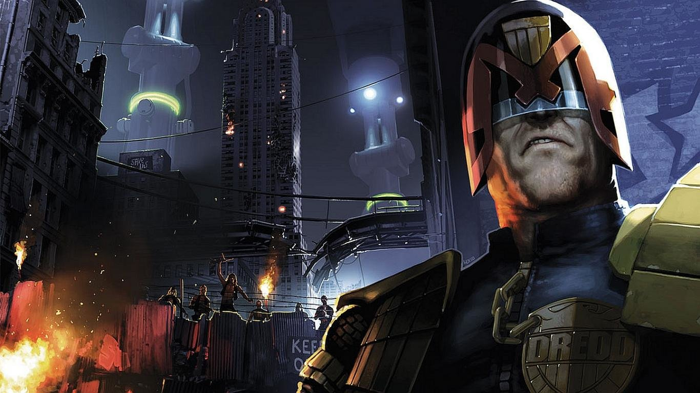 High resolution Judge Dredd laptop background ID:25121 for desktop