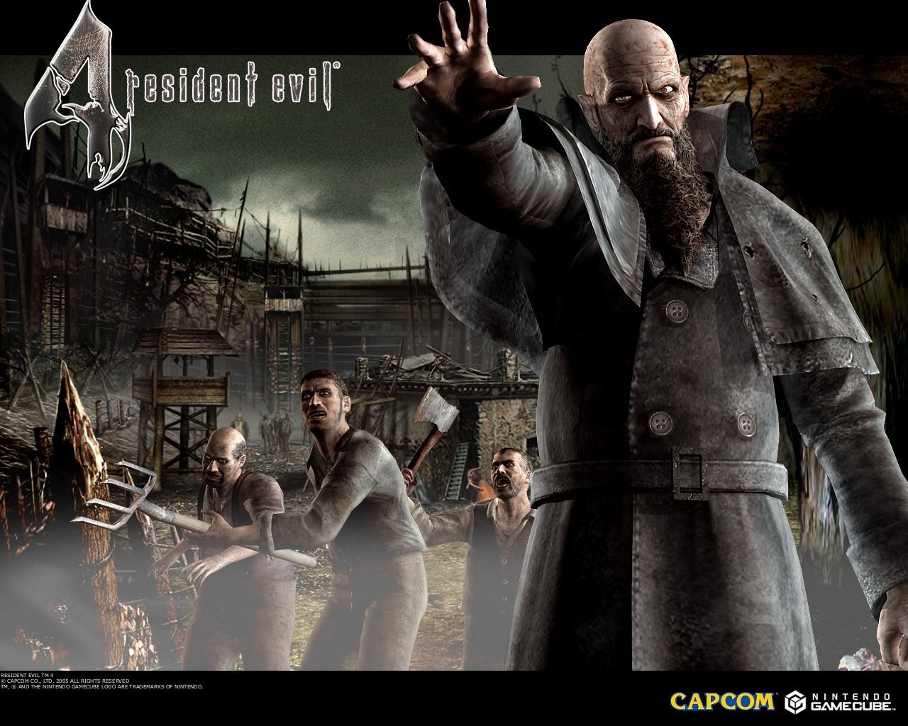 High Resolution Resident Evil 4 Hd 1280x1024 Wallpaper Id