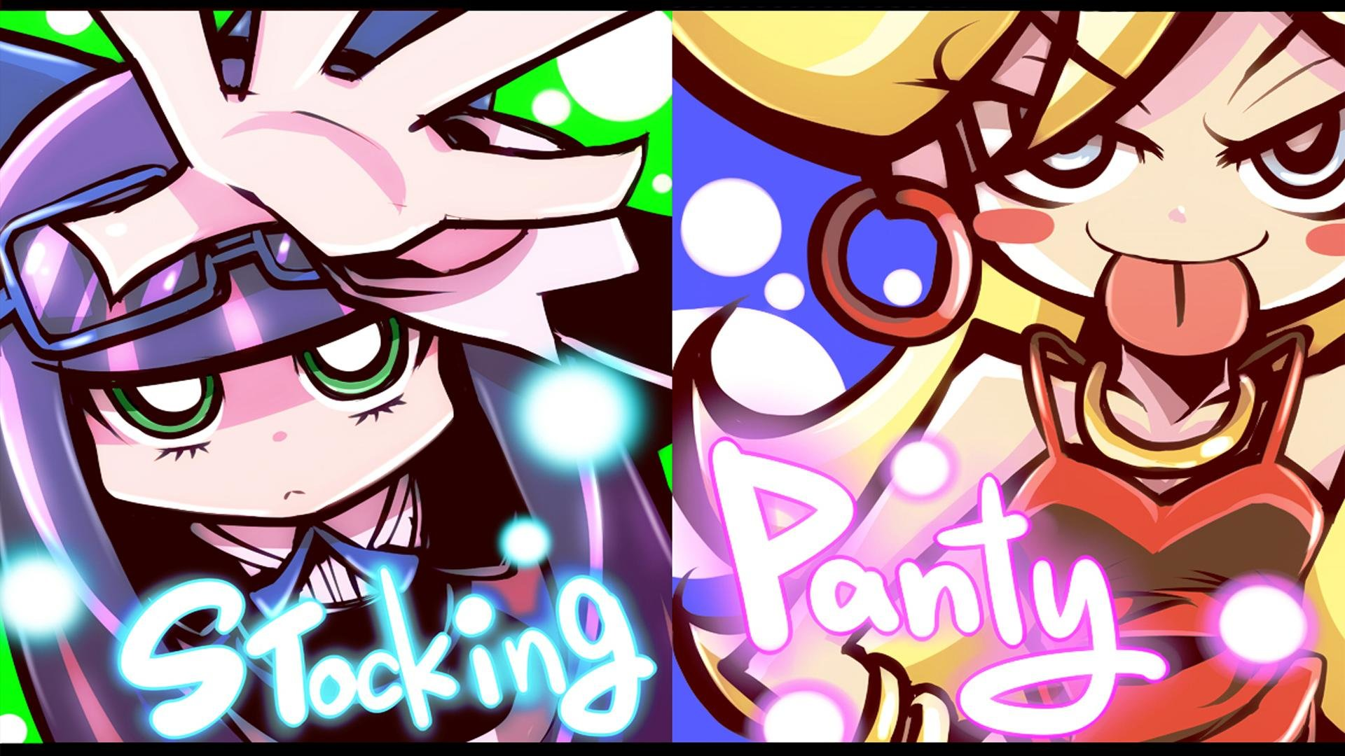 Free download Panty and Stocking With Garterbelt wallpaper ID:185096 full hd for computer