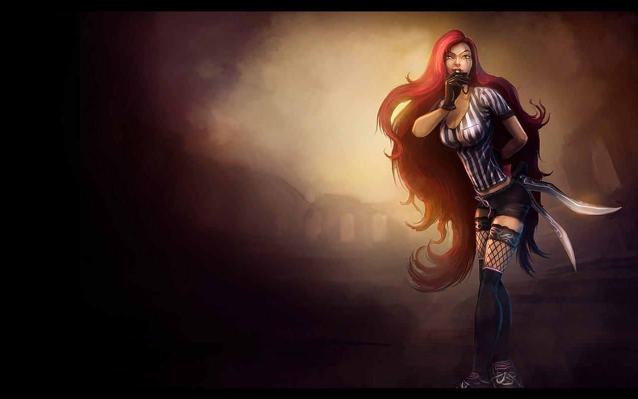 Katarina League Of Legends Wallpapers 1280x800 Desktop Backgrounds