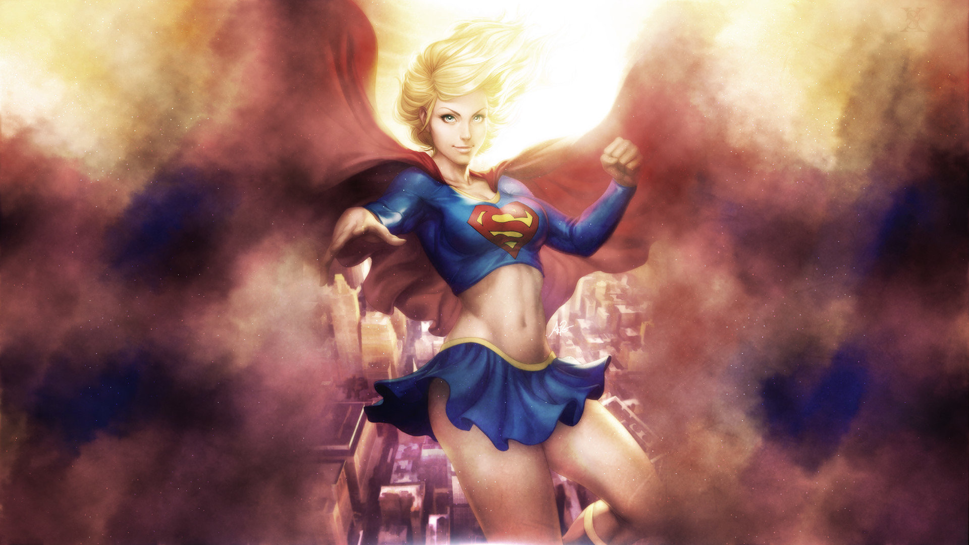 Best Supergirl wallpaper ID:26144 for High Resolution full hd PC