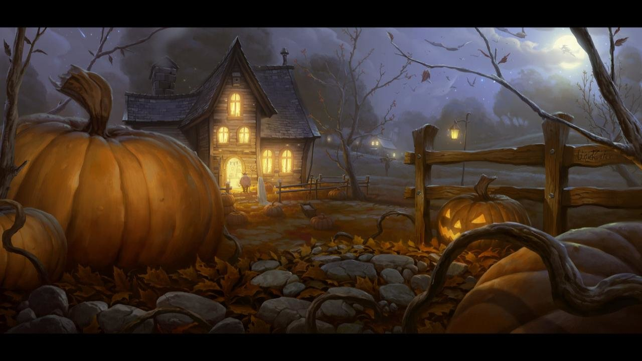 Download hd 1280x720 Halloween computer background ID:402345 for free