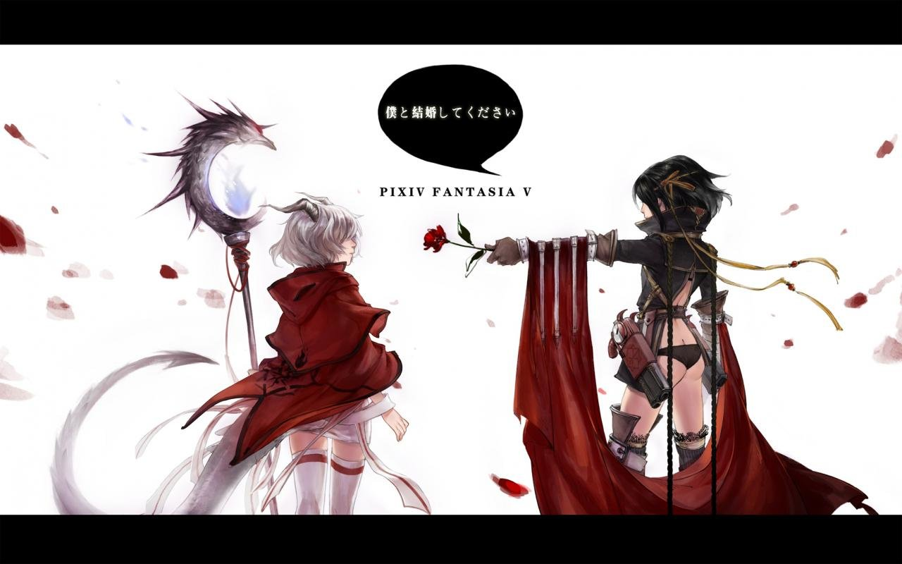 Download hd 1280x800 Pixiv Fantasia PC background ID:56136 for free