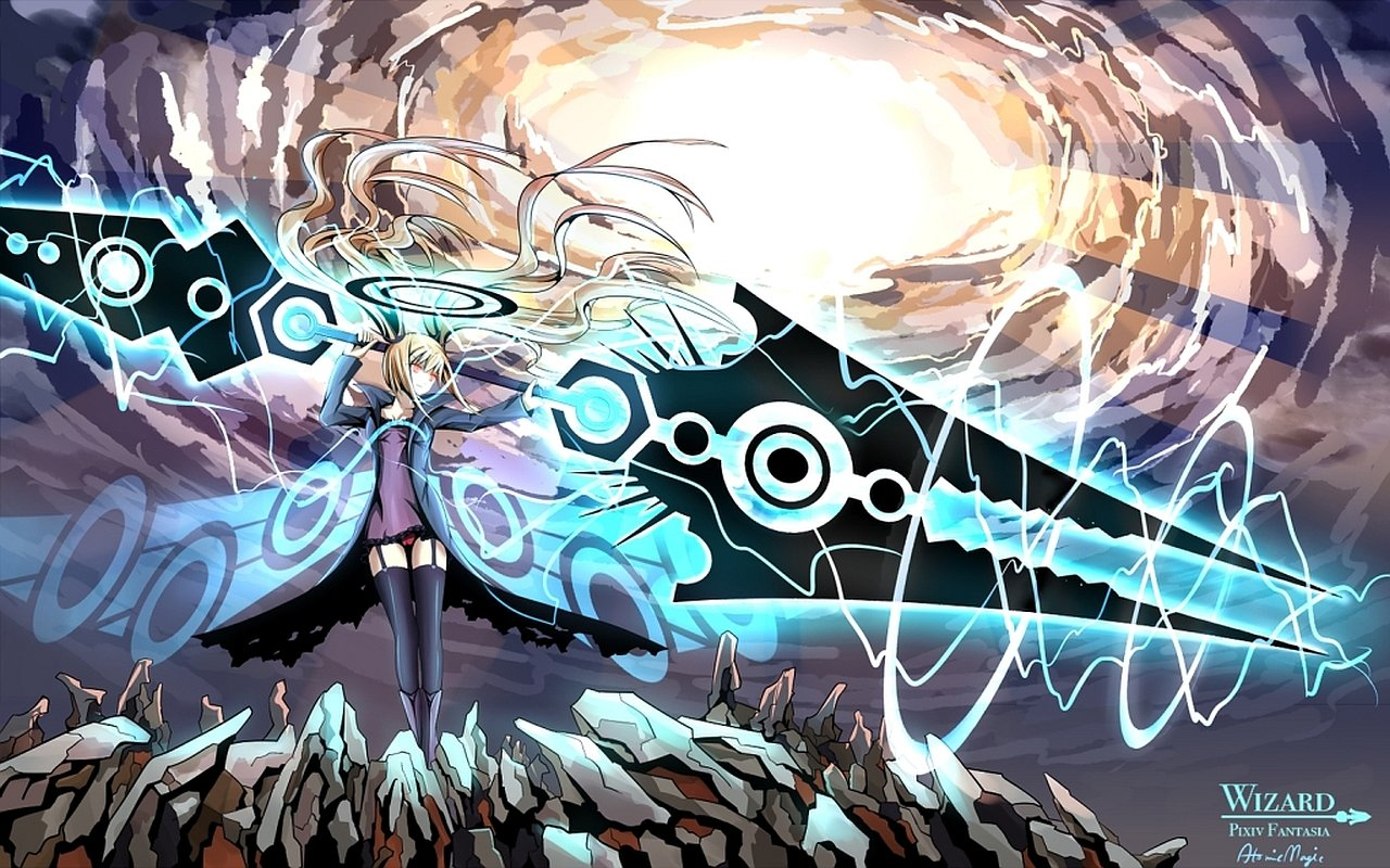 Awesome Pixiv Fantasia free background ID:56139 for hd 1280x800 PC