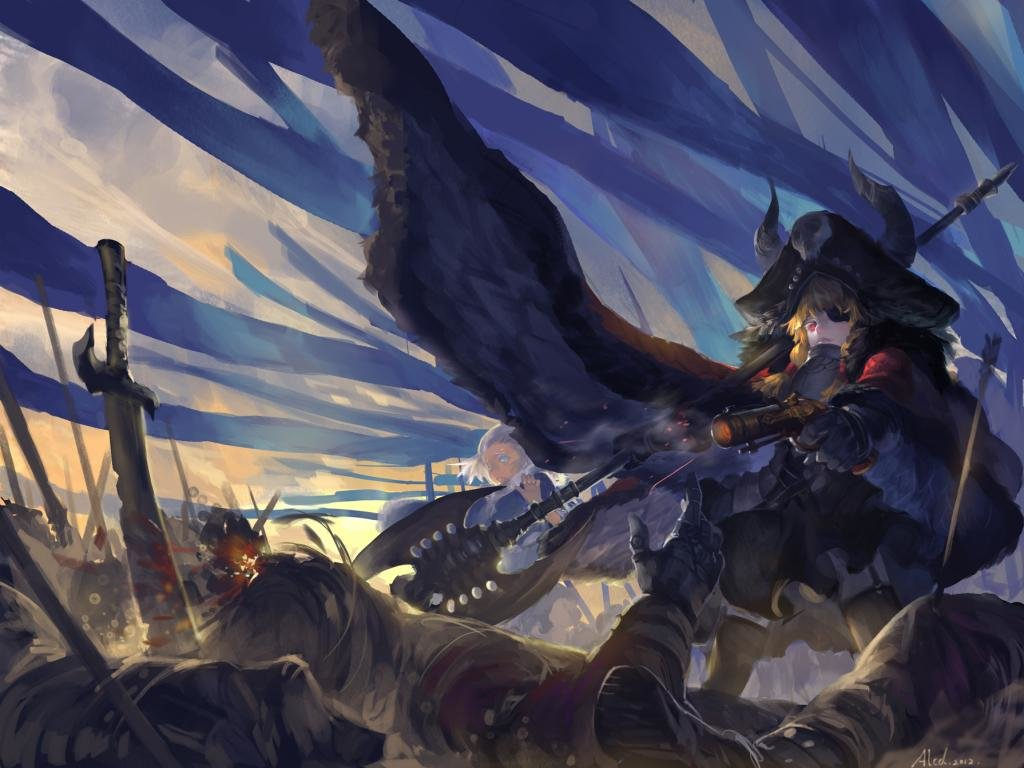 Awesome Pixiv Fantasia free wallpaper ID:56215 for hd 1024x768 desktop
