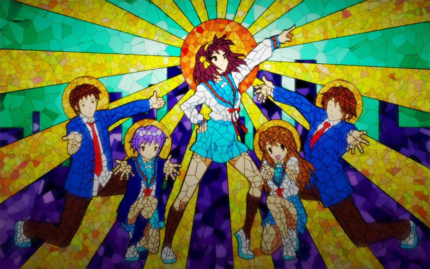 Awesome The Melancholy Of Haruhi Suzumiya free background ID:139377 for hd 1440x900 PC