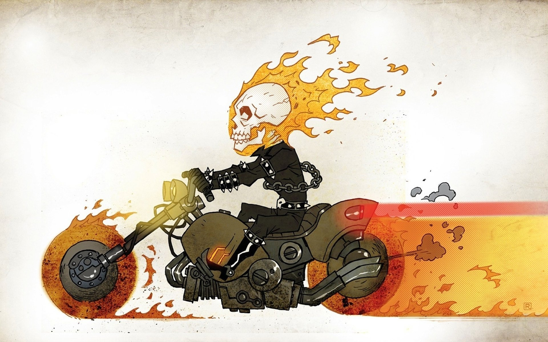 Download hd 1920x1200 Ghost Rider computer wallpaper ID:29456 for free