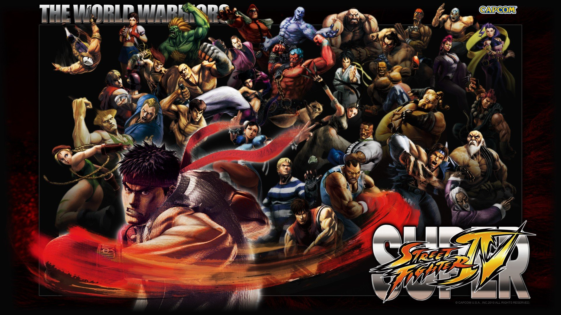 Free Download Street Fighter Wallpaper Id 466399 Full Hd 1920x1080