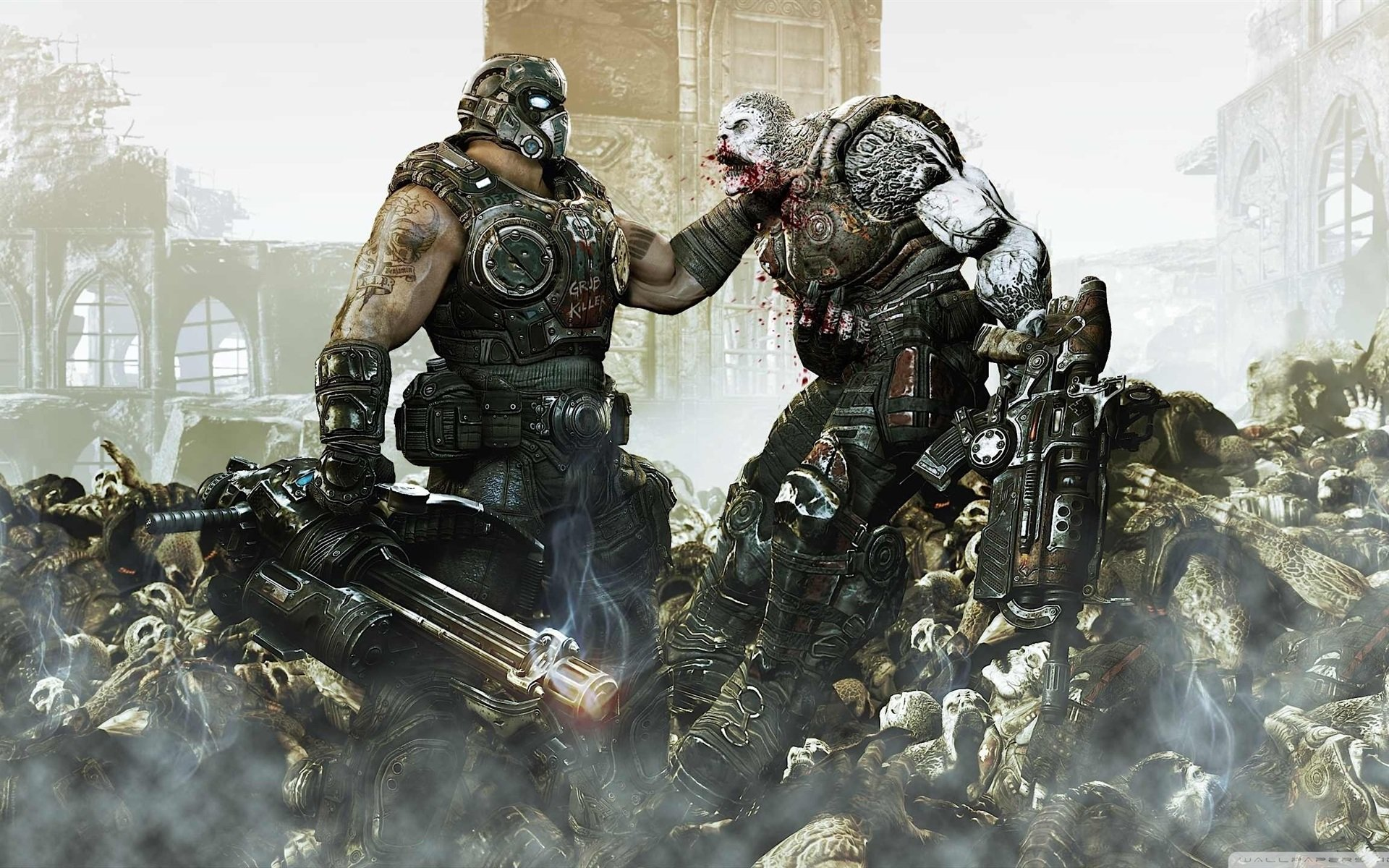 Download hd 1920x1200 Gears Of War 3 PC wallpaper ID:114377 for free