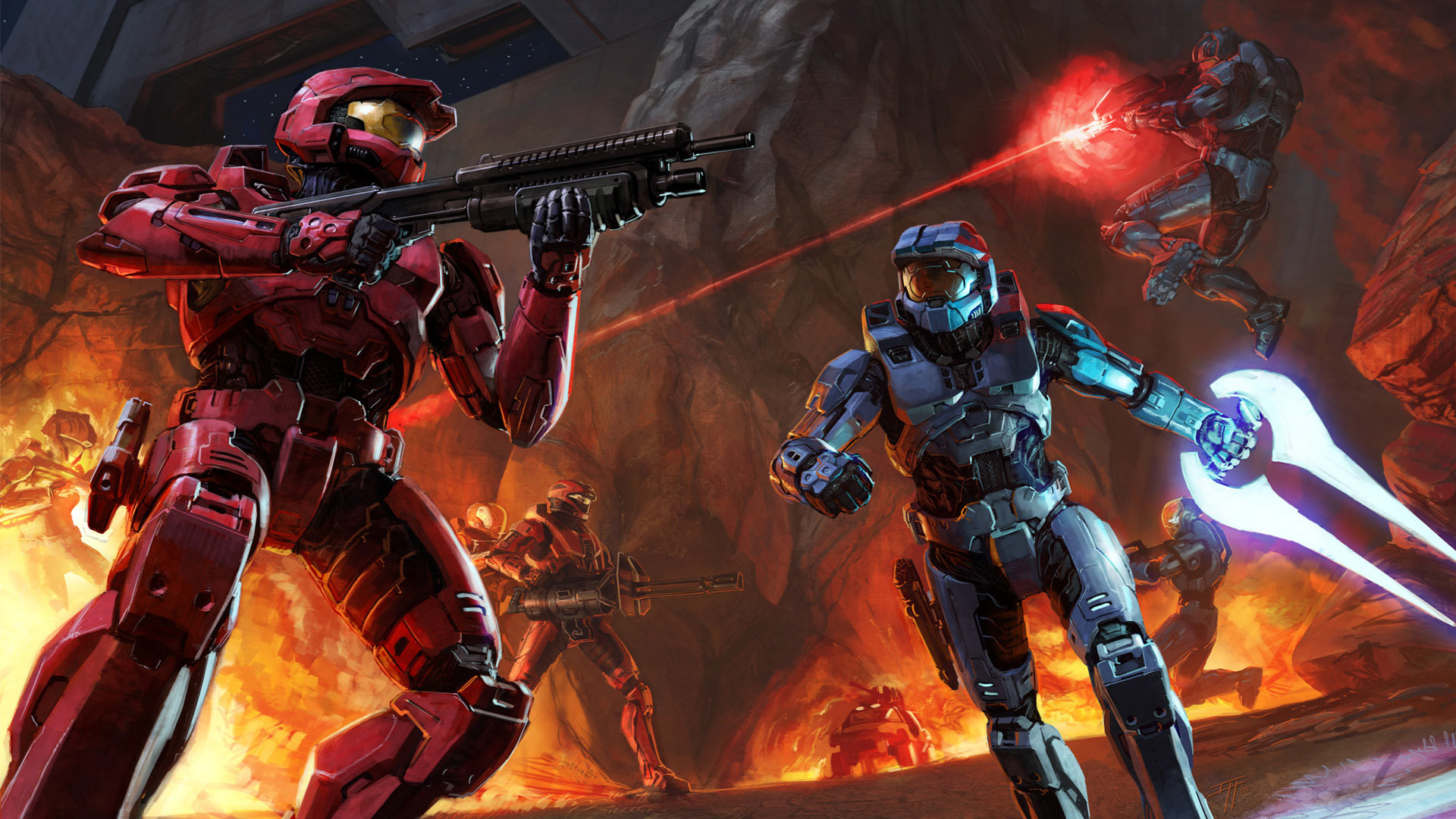 Halo 2 Wallpapers Hd For Desktop Backgrounds