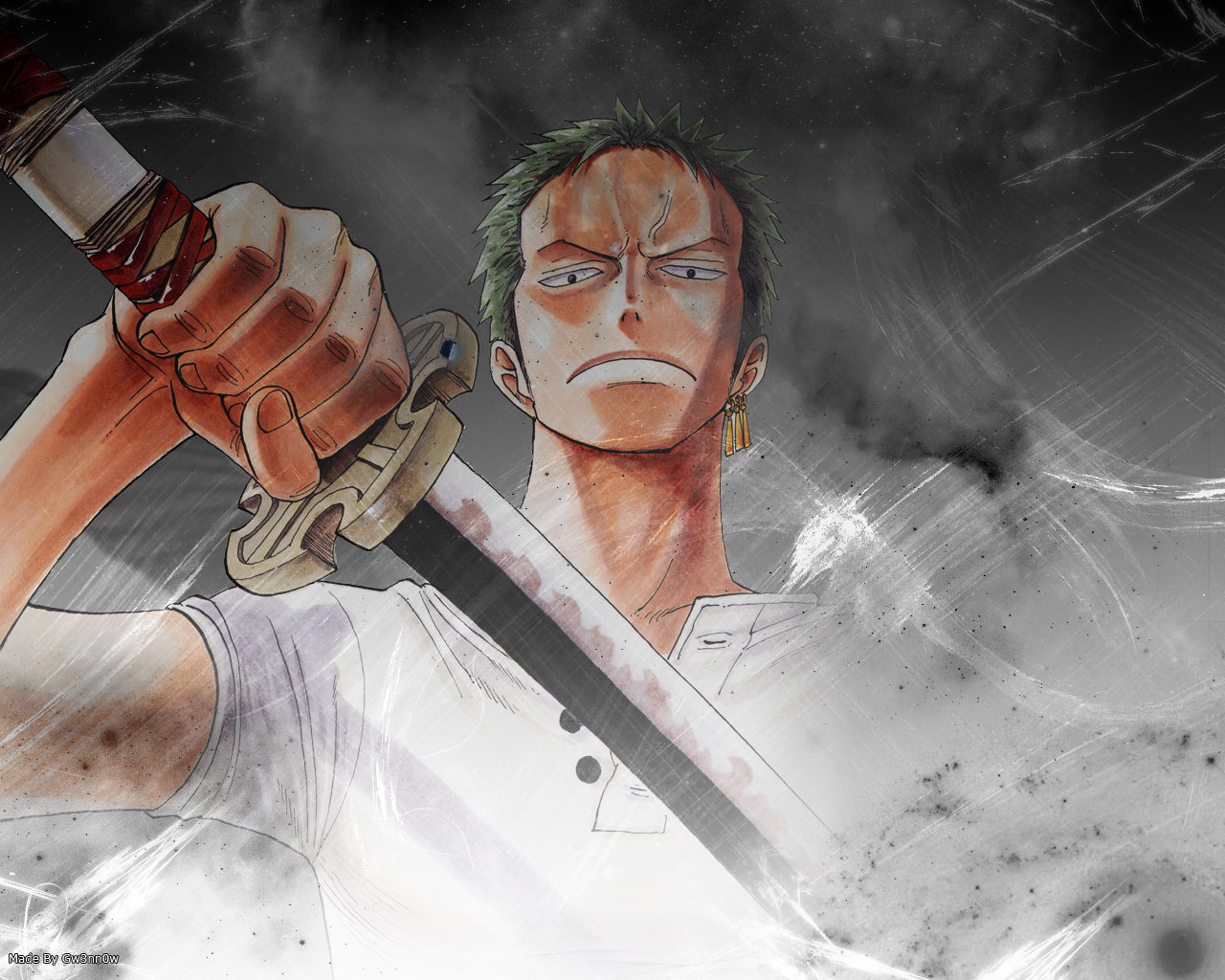 Awesome Zoro Roronoa free wallpaper ID:314018 for hd 1280x1024 PC
