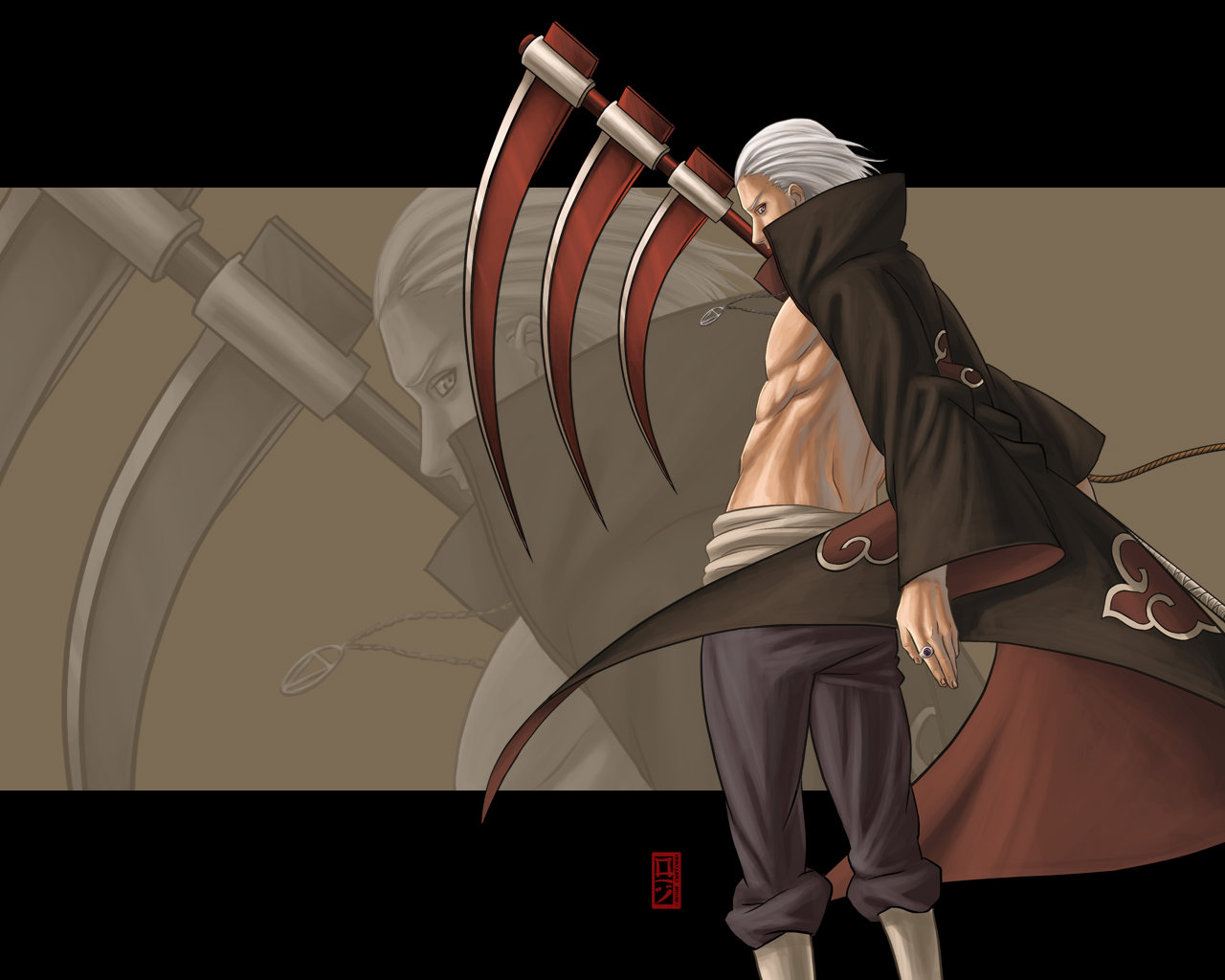 High resolution Hidan (Naruto) hd 1280x1024 background ID:395952 for PC