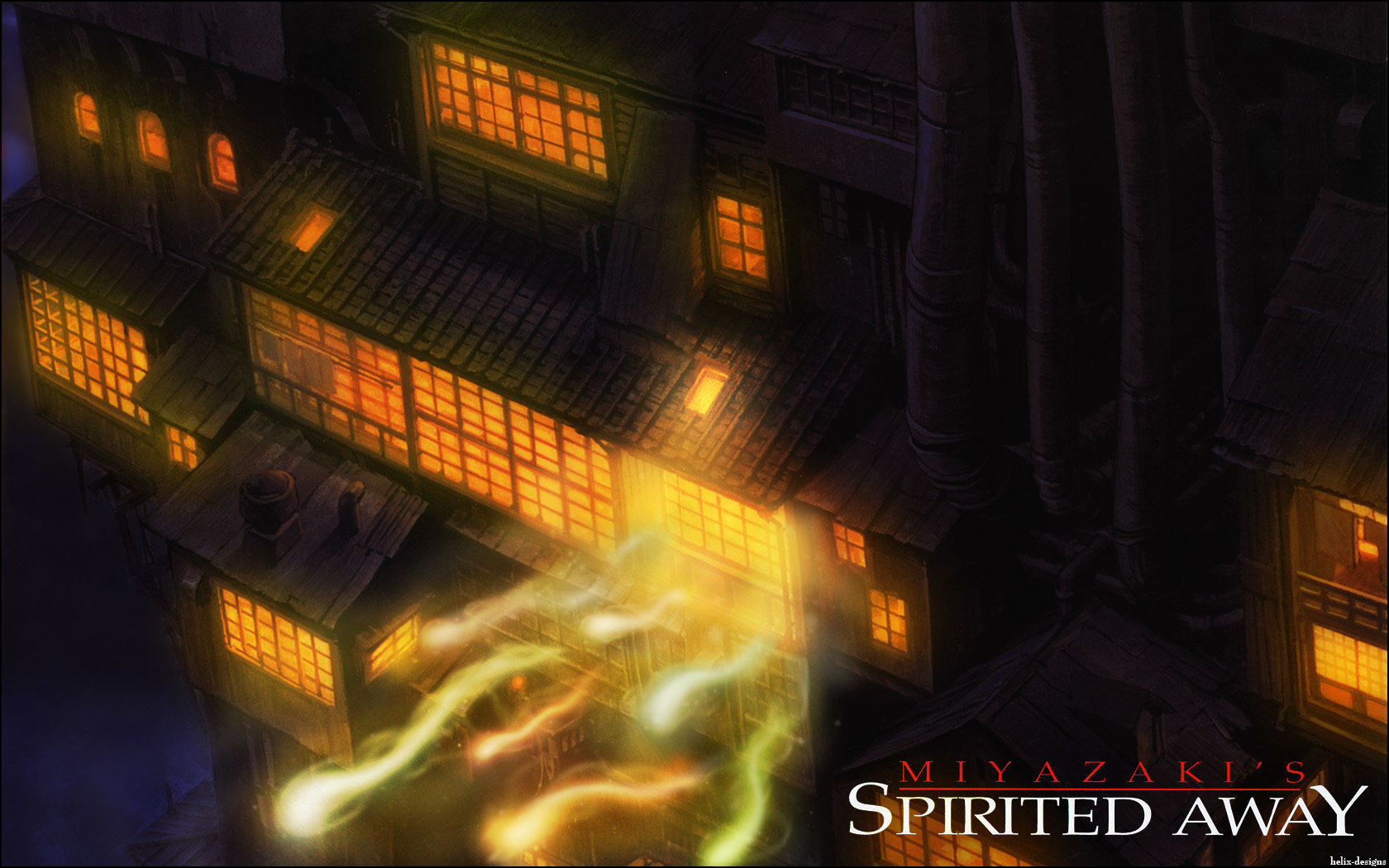 Spirited Away Wallpapers Hd For Desktop Backgrounds