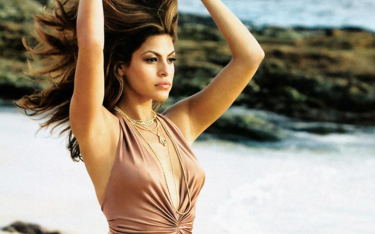High resolution Eva Mendes hd 1280x800 background ID:467290 for computer