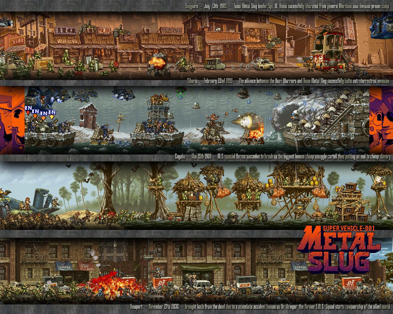 Metal Slug Wallpapers Hd For Desktop Backgrounds