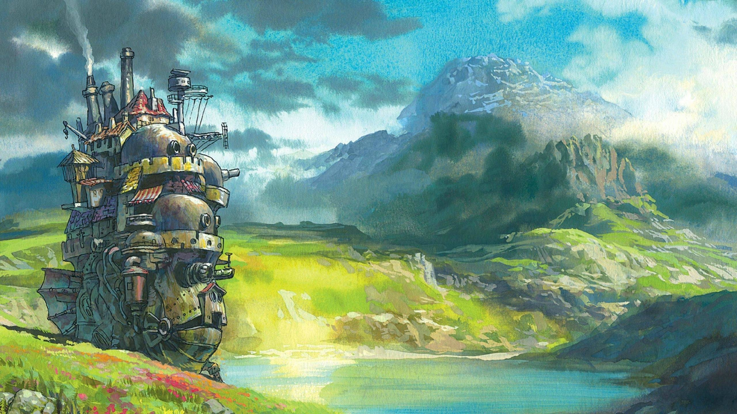 Free download Howl's Moving Castle wallpaper ID:347862 hd 2560x1440 for computer