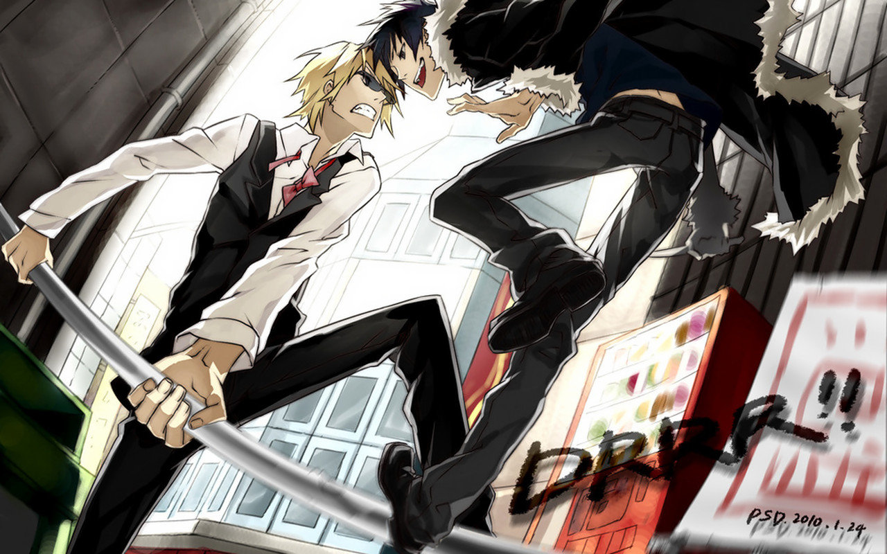 Free Durarara high quality background ID:321280 for hd 1280x800 desktop