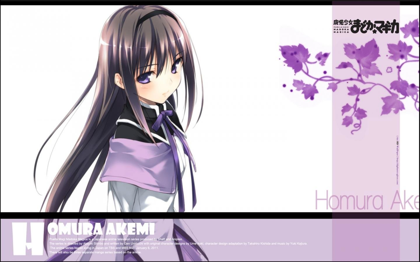 High resolution Homura Akemi hd 1440x900 wallpaper ID:31867 for PC