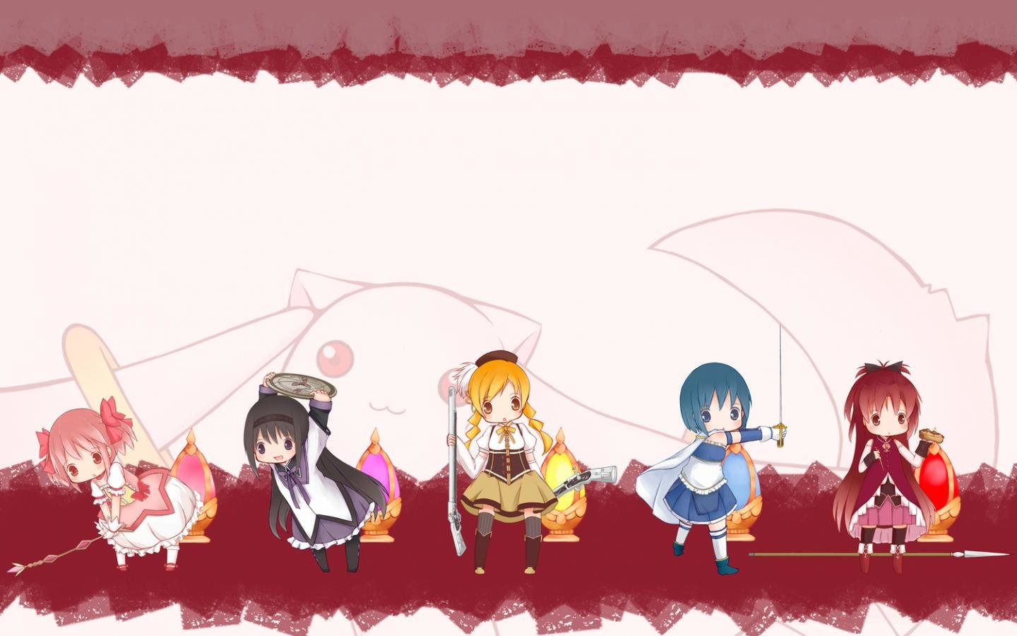 Best Puella Magi Madoka Magica background ID:32451 for High Resolution hd 1440x900 desktop