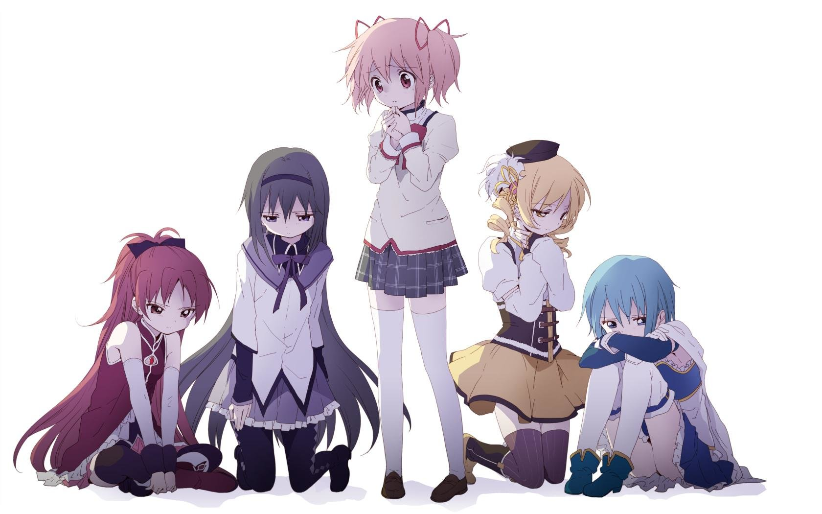 Download hd 1680x1050 Puella Magi Madoka Magica computer wallpaper ID:32454 for free