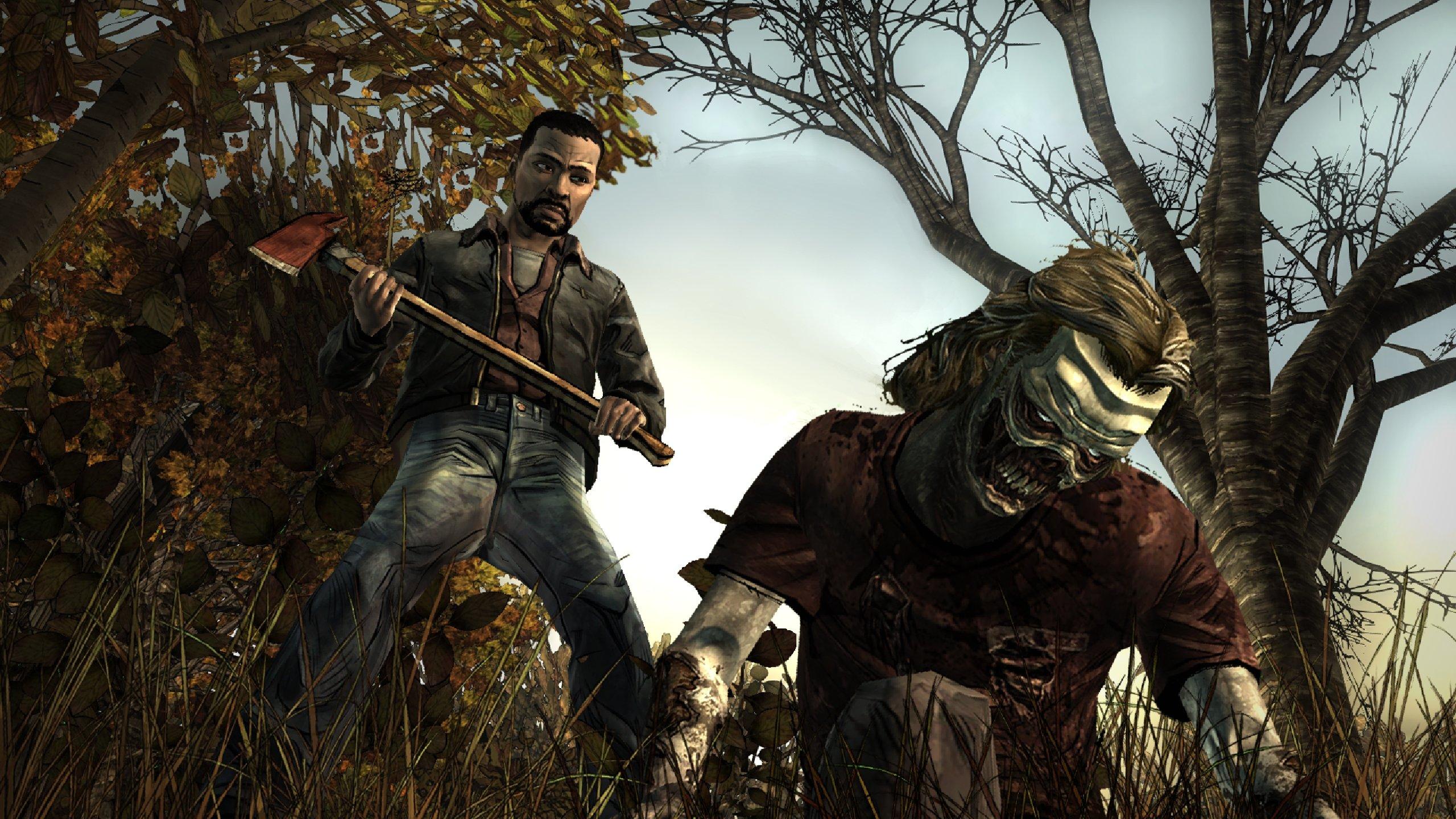 The Walking Dead Video Game Wallpapers 2560x1440 Desktop Backgrounds