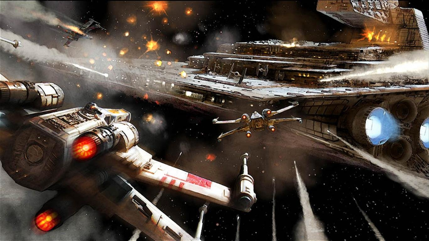 X Wing Wallpapers Hd For Desktop Backgrounds