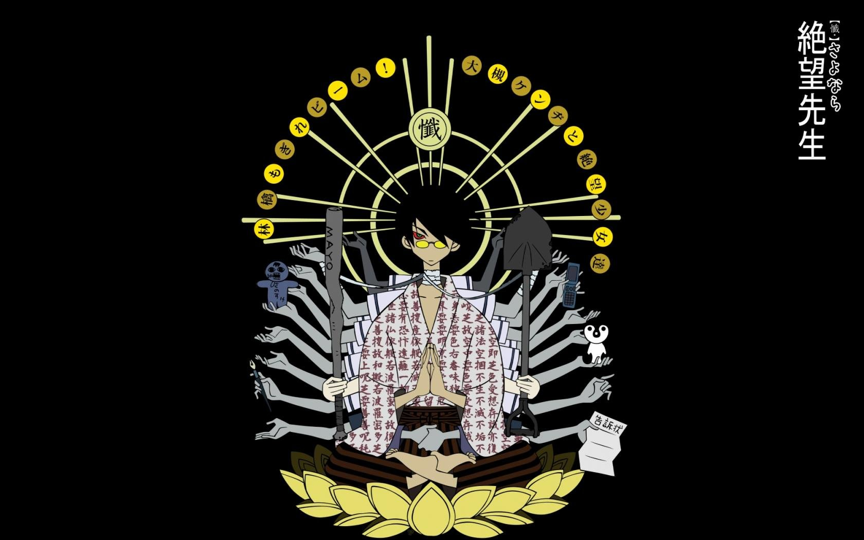 High resolution Sayonara, Zetsubou-Sensei hd 1680x1050 wallpaper ID:243977 for PC