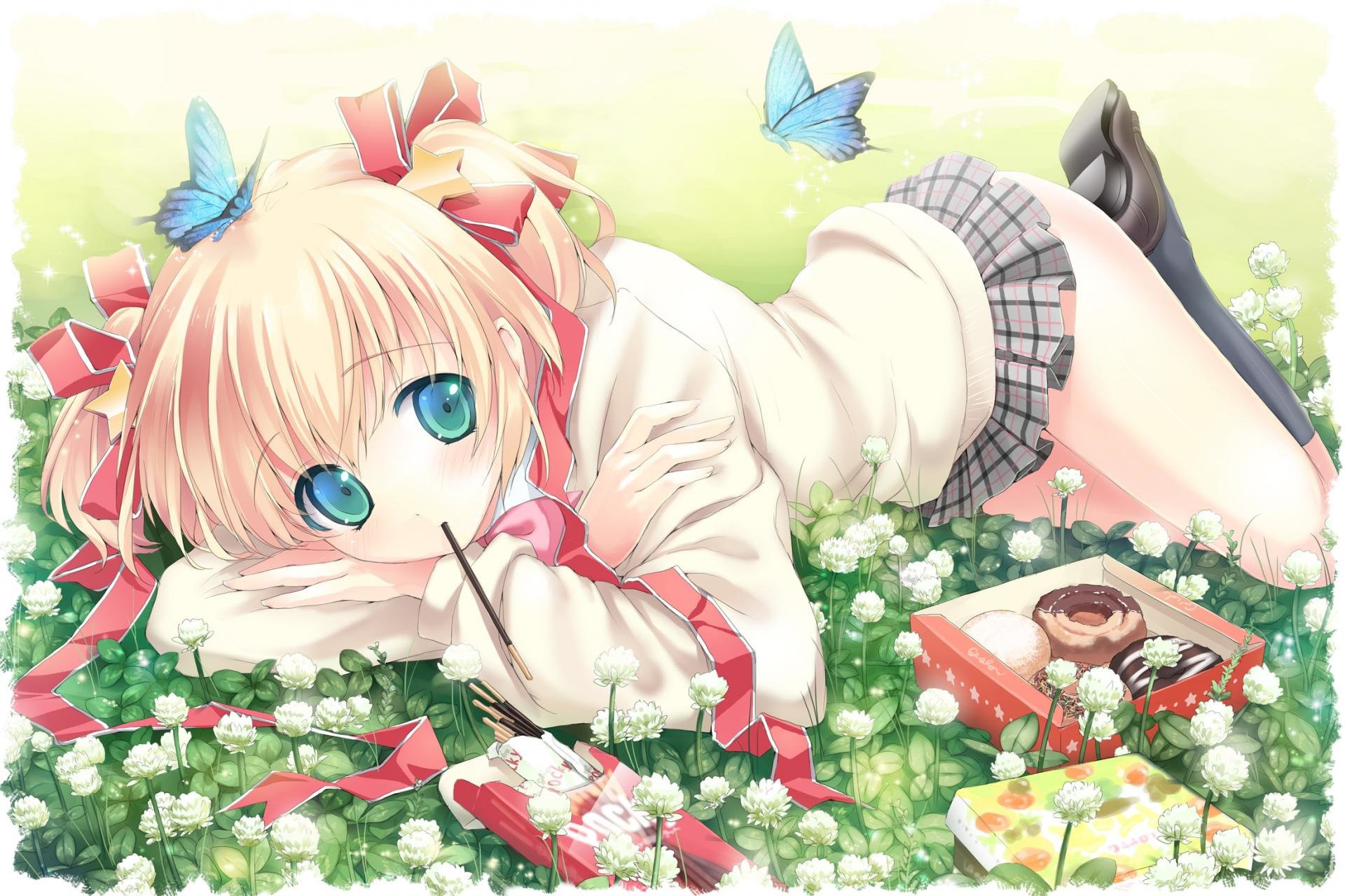 Download hd 1920x1280 Little Busters! desktop background ID:164745 for free
