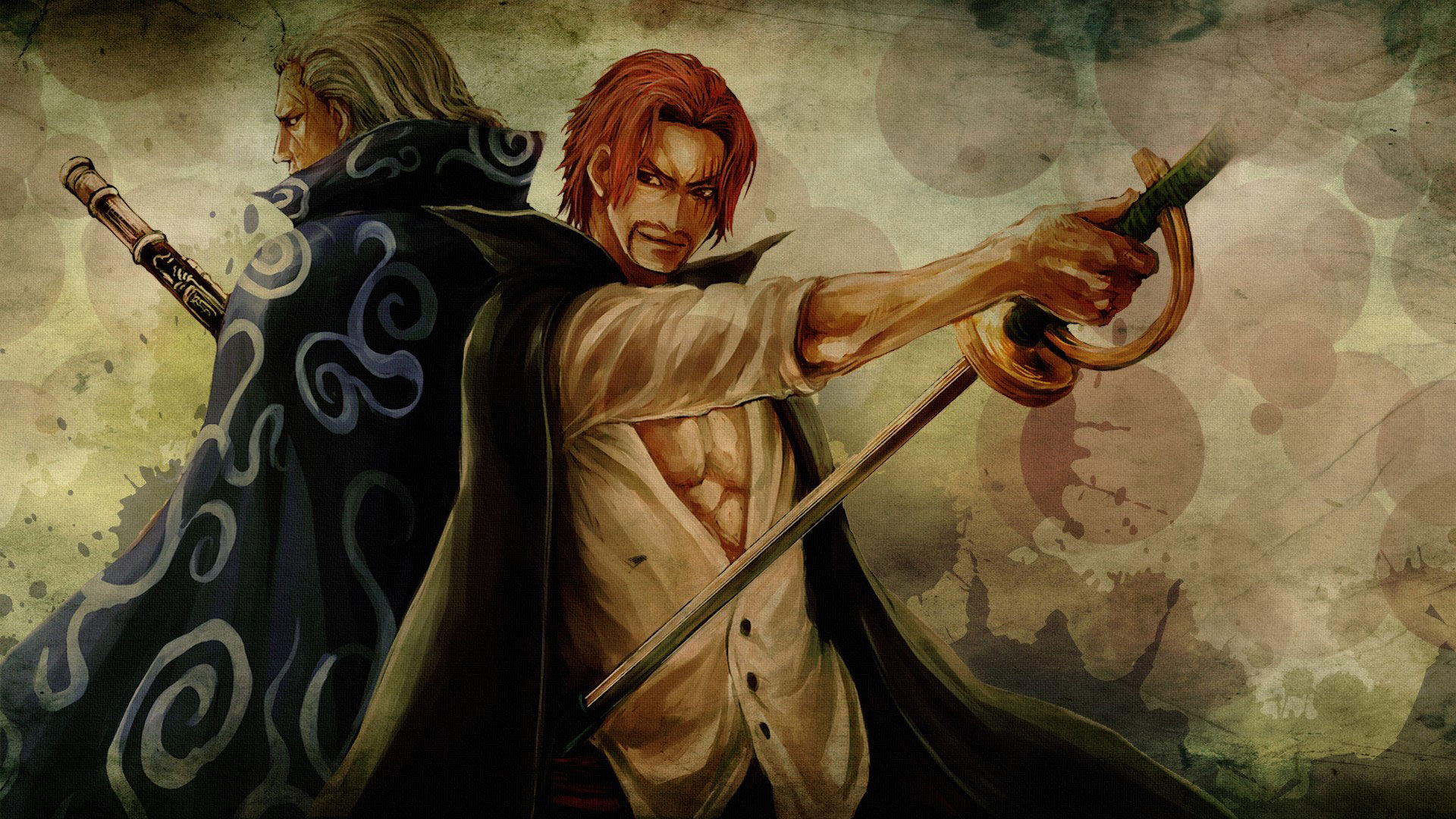 Download 1080p Shanks (One Piece) computer wallpaper ID:313936 for free